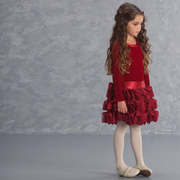 Biscotti High Drama Dress - Red