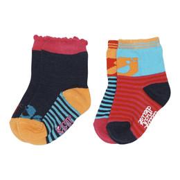Deux Par Deux Bisous d'Oiseaux Socks