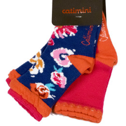 Catimini The Russian Dolls Socks - Fuchsia