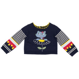 Catimini Tcha Tcha Cat Sweater - Marine