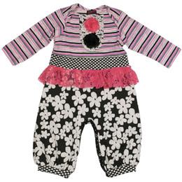 ZaZa Couture Lichtenstein Baby Romper