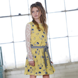 Persnickety Penny Lane Ella Dress - Gold (2Y-16Y)
