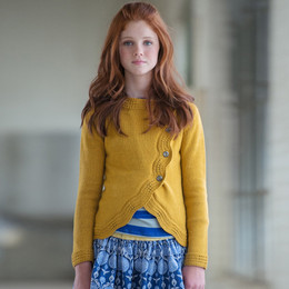 Persnickety Penny Lane Amelia Sweater - Gold (12M-16Y + Women)