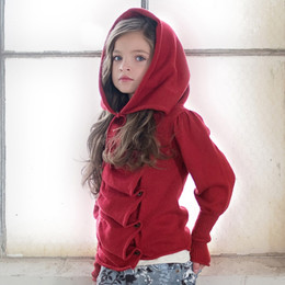 Persnickety Penny Lane Eden Sweater - Red (12M-16Y + Women)