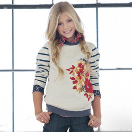 Persnickety Penny Lane Flora Sweater - Multi (12M-16Y)