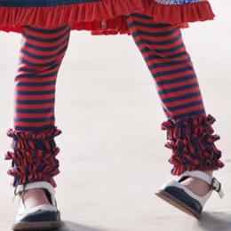 Persnickety Penny Lane Gracie Gathered Leggings - Stripe (2Y-12Y)