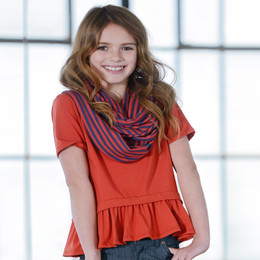 Persnickety Penny Lane Ally Top - Red (8Y-16Y)