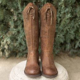 Joyfolie Gracelyn Boots - Brown