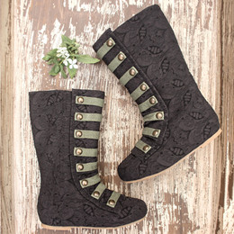 Joyfolie Leighton Boots - Black