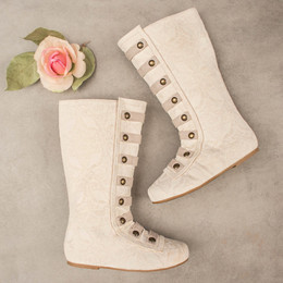 Joyfolie Leighton Boots - Cream