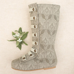 Joyfolie Leighton Boots - Dove