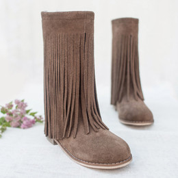 Joyfolie Willow Boots - Brindle