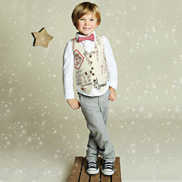 Mustard Pie First Snow Boys Vest - Document (D3)
