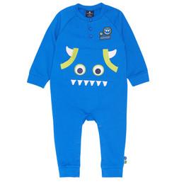 Chapo Pointu Monster of Music Romper - Nautical Blue