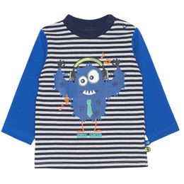 Chapo Pointu Monster of Music L/S T-shirt - Striped
