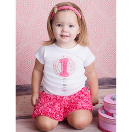 Lemon Loves Lime 1st Birthday Tee - White