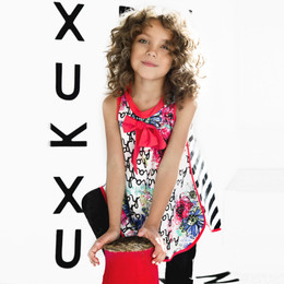 Deux Par Deux In The Mood For Fun Tunic - Multi