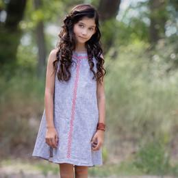 Persnickety Wonderstruck Kara Dress - Gray