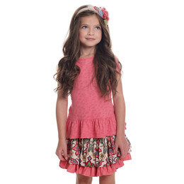 Persnickety Wonderstruck Elsie Top - Pink