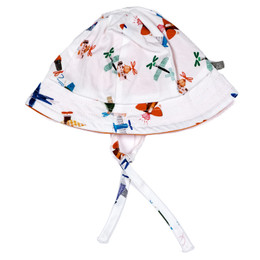 Catimini Enchanted Africa Spirit Couleur Garcon Reversible Hat - Imprime Fo