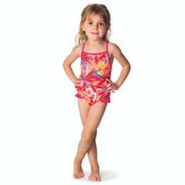 Catimini Pretty In Timbuktu Spirit Ethnic 1pc Swimsuit - Imprime Fd