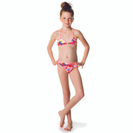Catimini Folk To Tijuana Spirit Ethnic 2pc Bikini Swimsuit - Imprime Fd