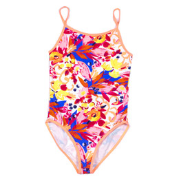 Catimini Folk To Tijuana Spirit Ethnic 1pc Swimsuit - Imprime Fd