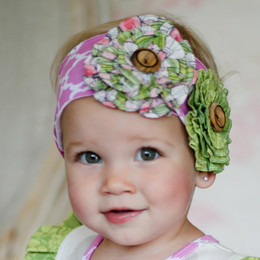 Giggle Moon Lily Of The Valley Knit Headband