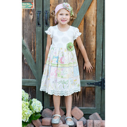 Giggle Moon Lily Of The Valley Greta Dress