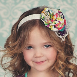 Persnickety Easter April Headband - Multi