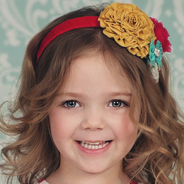 Persnickety Easter Claire Headband - Pink