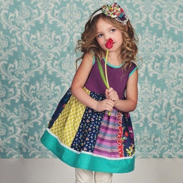 Persnickety Easter Penelope Dress - Multi