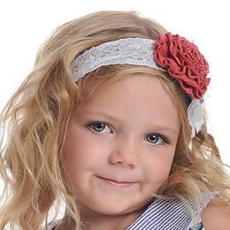 Persnickety Wild Flower Ora Headband - Red