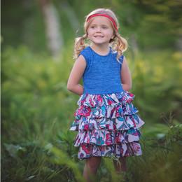 Persnickety Wild Flower Macie Jane Dress - Multi