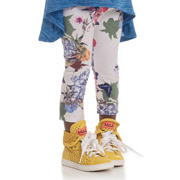 Persnickety Wild Flower Lisel Legging - White