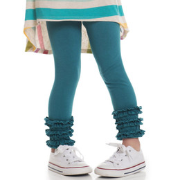 Persnickety Salty Kisses & Sandy Toes Gracie Legging - Teal