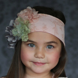 Giggle Moon Tree Of Life 3 Flower Knit Headband