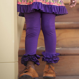 Persnickety Plum Crazy Leighton Legging - Purple