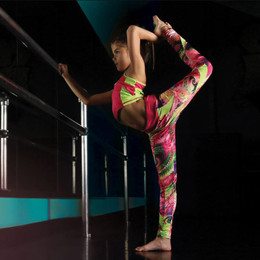 Isobella & Chloe Activewear Leggings - Hot Pink