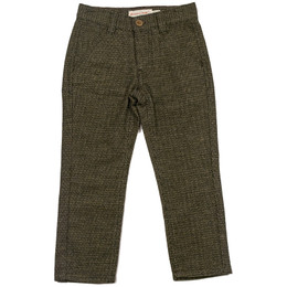 Deux Par Deux Maestro Herringbone Pants - Brown