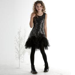 Biscotti Glitz & Glam Ruffles Dress - Black