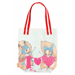 Paper Wings I Love U Tote - Multi