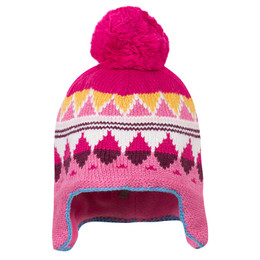 Catimini Queen of the Woods Nomade Pom Pom Hat (Naissance) - Fuchsia