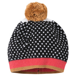 Catimini Queen of the Ice Graphic City Pom Pom Hat - Nuit