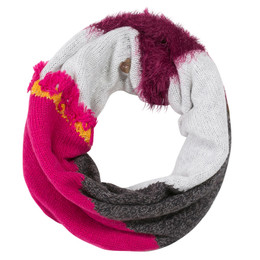 Catimini Queen of the Woods Nomade Infinity Scarf - Fuchsia