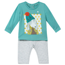 Catimini Poptimiste Pop 2pc Shirt & Pants Set - Horizon
