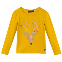 Catimini Queen of the Woods Nomade Deer Top - Aurore