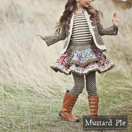 Mustard Pie Harvest Splendor Lydia Apron Skirt - Burgundy
