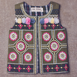Jak & Peppar Wee One Ringo Vest - Multi (Toddler Sizes)
