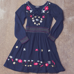 Jak & Peppar Endless Love Dress - Navy Bean